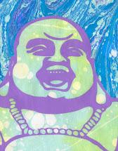 Laughing Buddha Ebru
