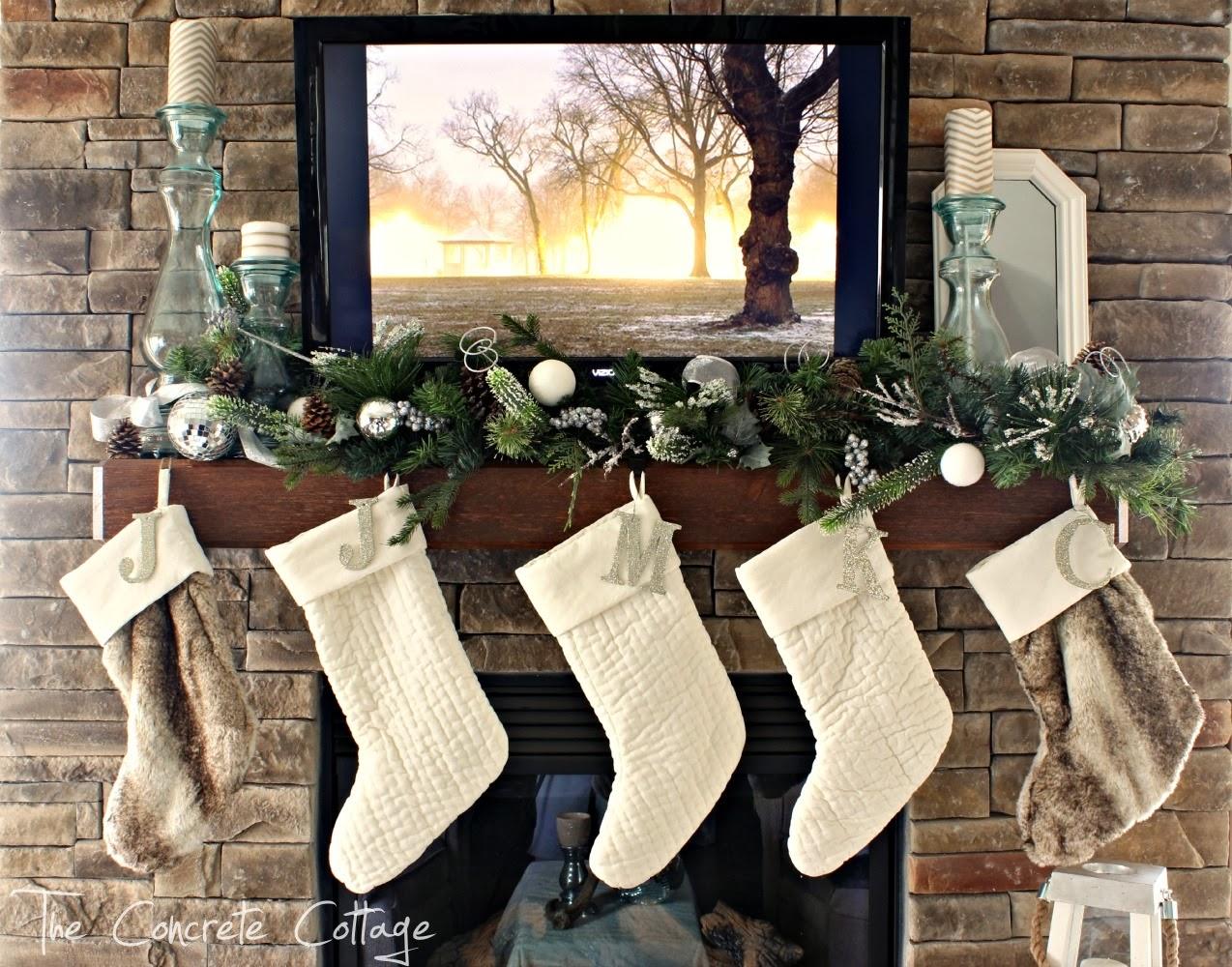 woodland personalized size of christmas stocking barns pottery barn full stockings