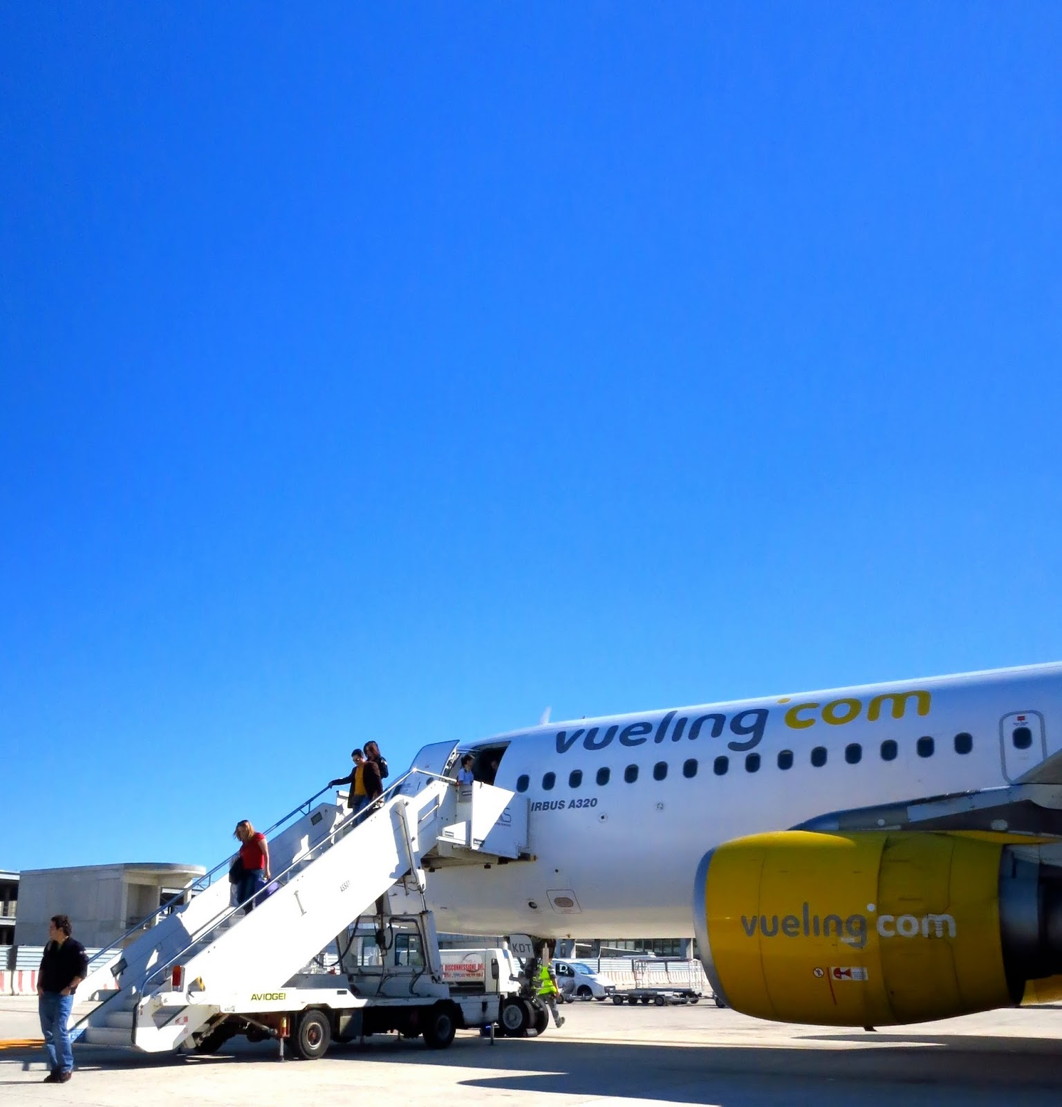 Vueling Airlines at Fiumicino Airport