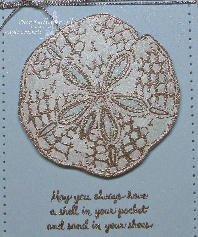 ODBD Ocean Treasures, Card Designer Angie Crockett