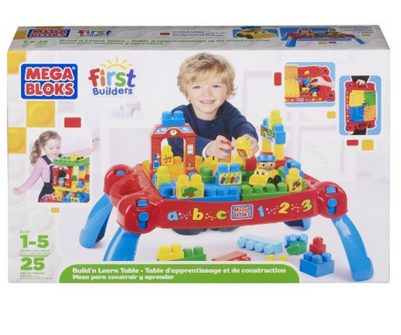 Get Mega Bloks Play 'n Go Table for $31.53