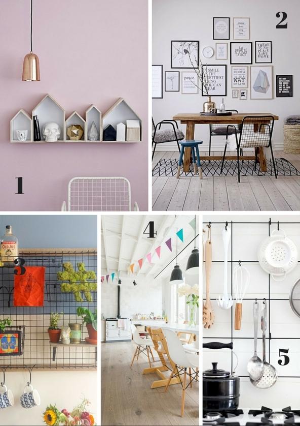 organizacion y sillas de cocina