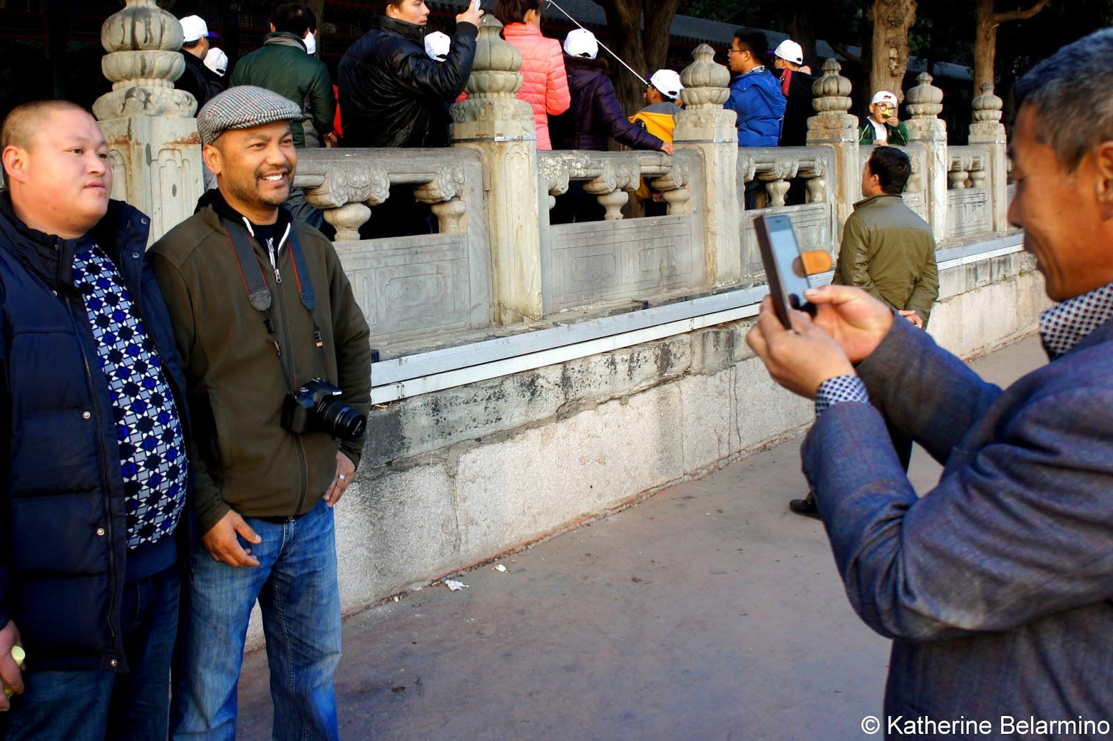 Photos with Foreigners in China