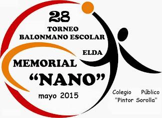 TORNEO BALONMANO ESCOLAR MEMORIAL NANO