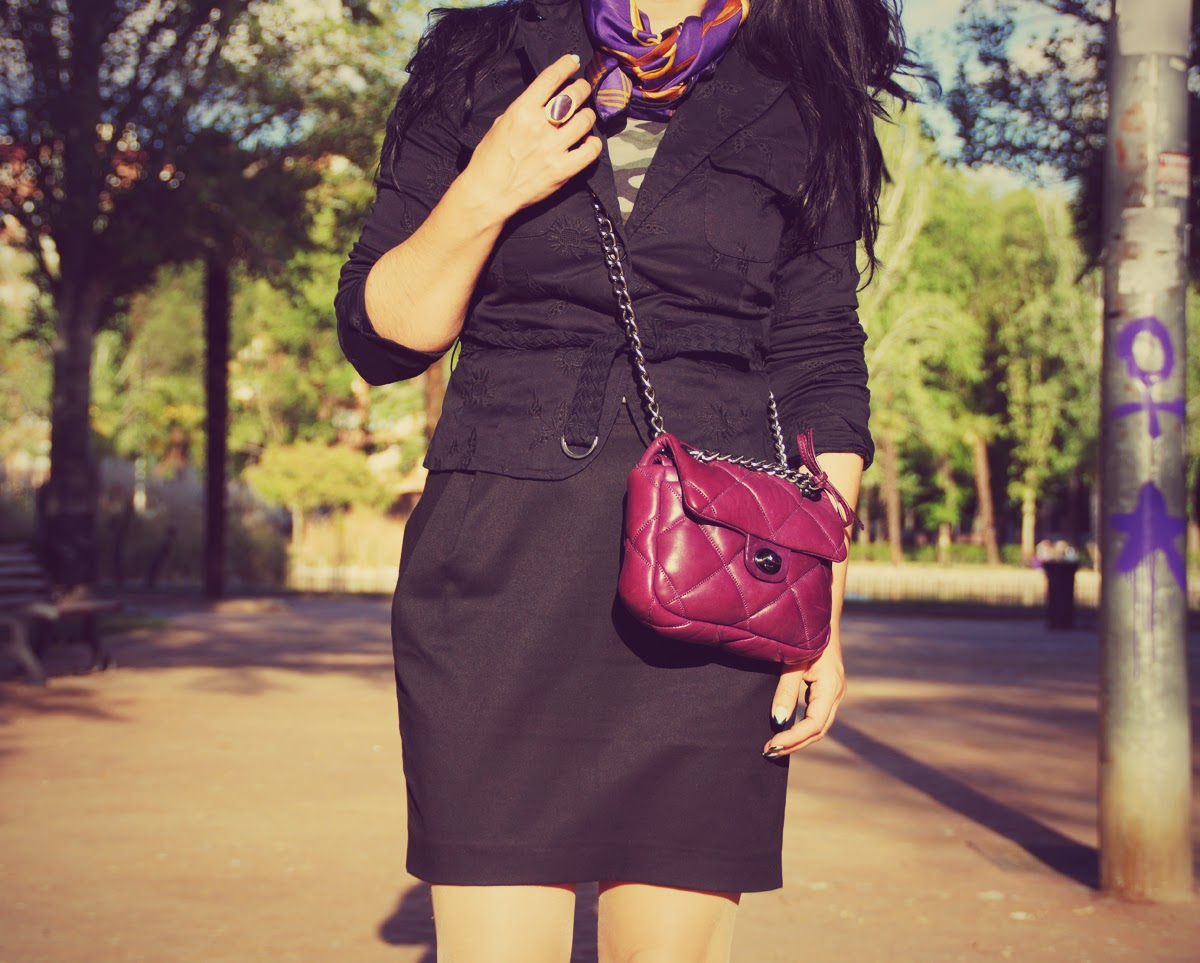 purple+bag