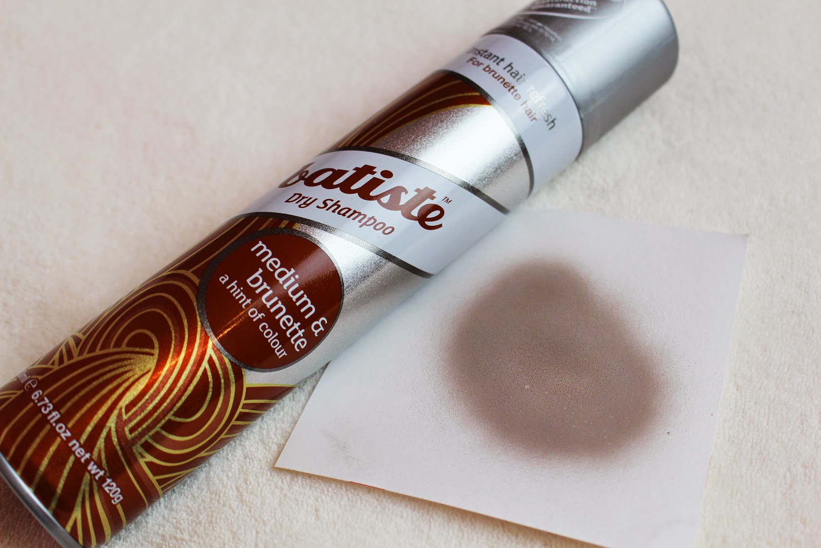 Batiste dry shampoo Medium and Brunette