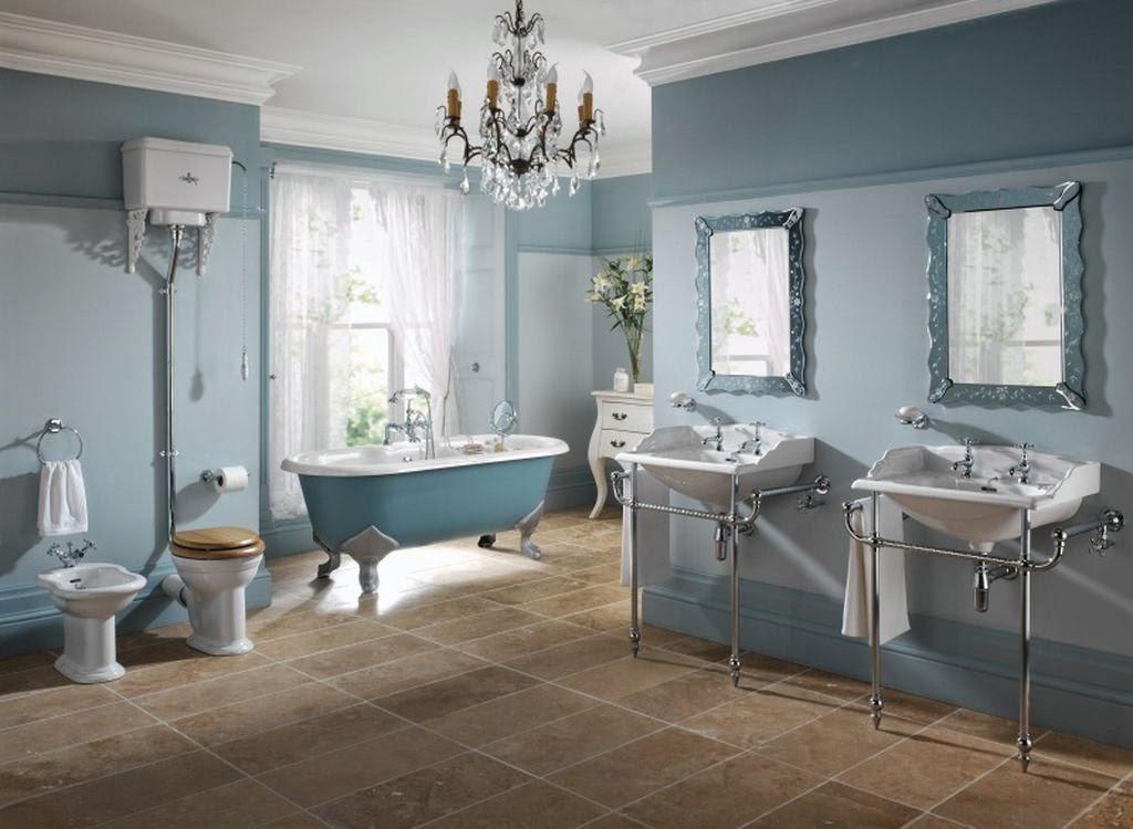 Decoración de baños estilo vintage  Ideas para decorar