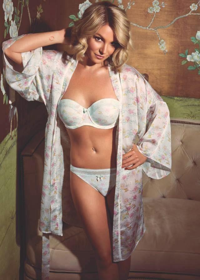 Britney Spears en lenceria