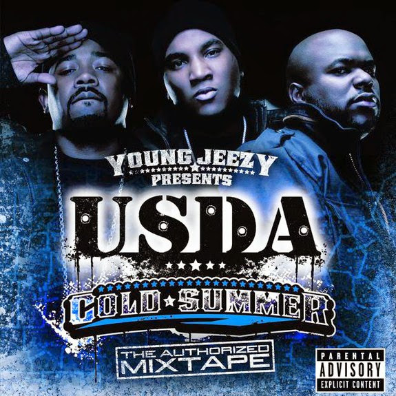 Young Jeezy & U.S.D.A. - Cold Summer - The Authorized Mixtape (Young Jeezy Presents U.S.D.A.) Cover
