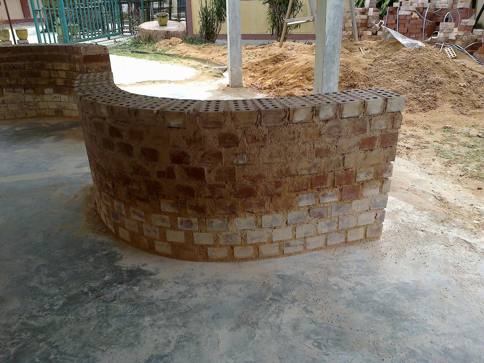 Teknologi Pembinaan: Membina tembok melengkung