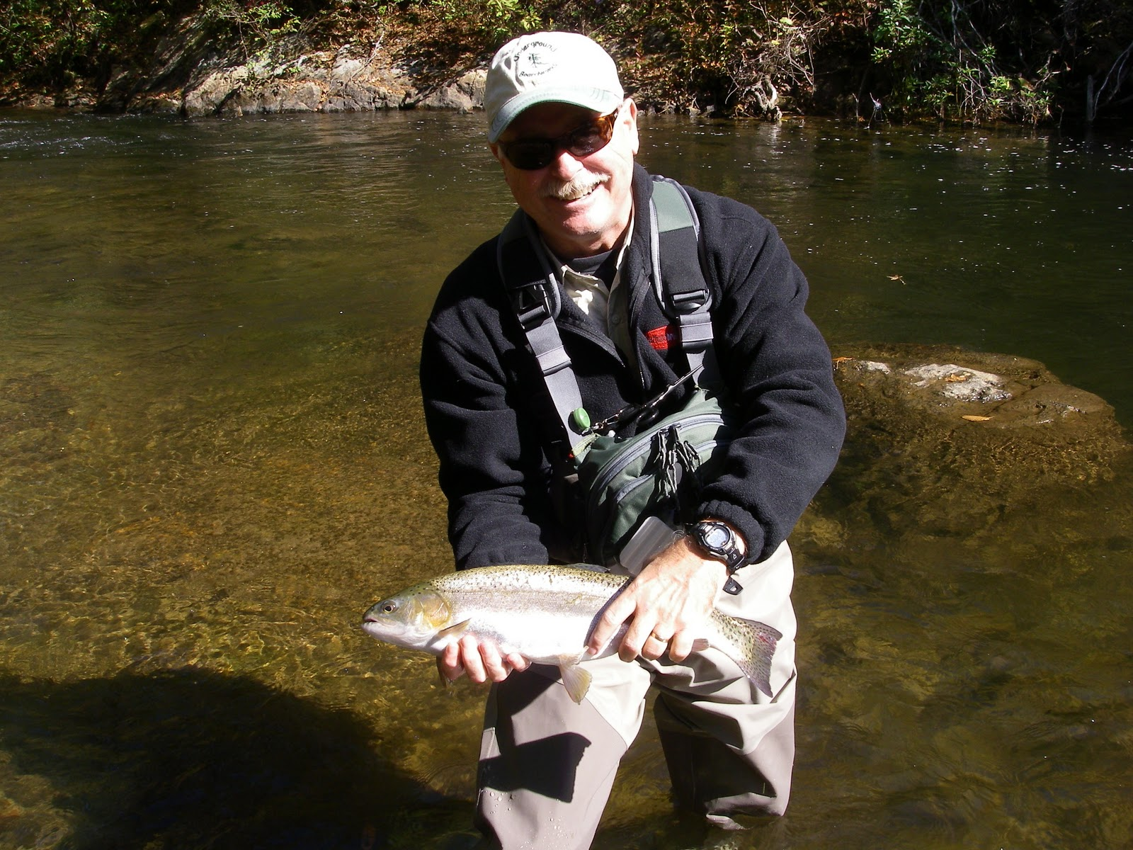 The liars club nacoochee bend for Trout fishing in helen ga