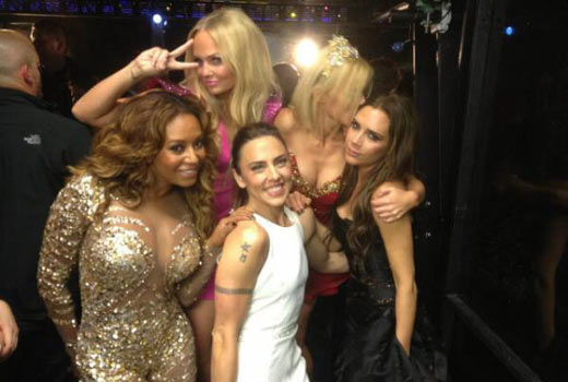 spice girls reunite summer olympics closing ceremony 2012