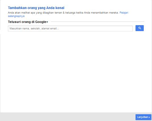 buat akun google plus