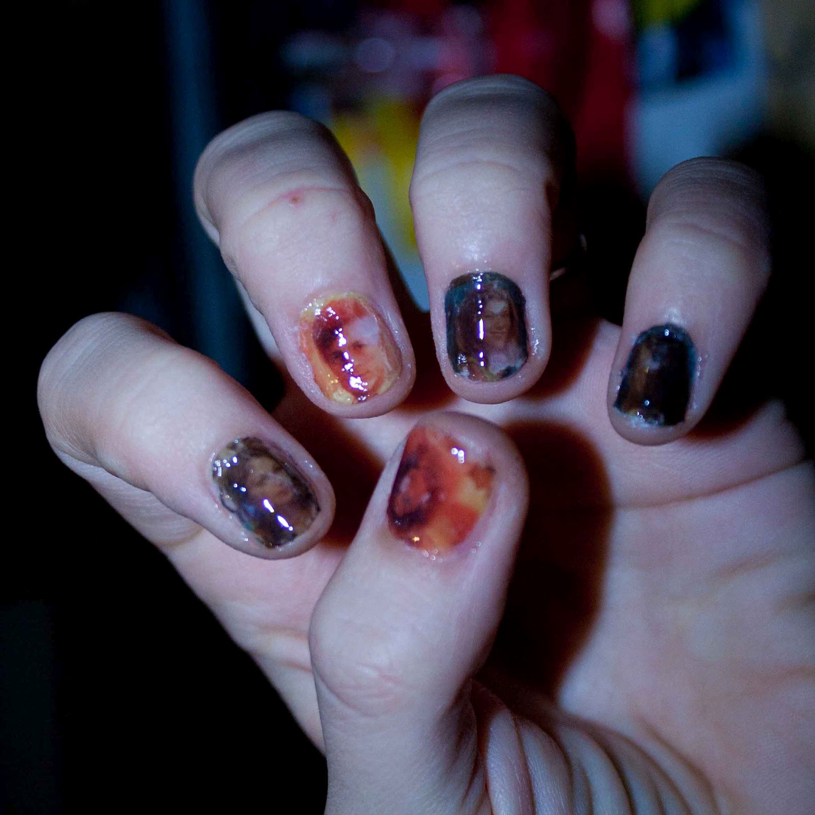 Firefly Comic Book Nails | Nerd by Night