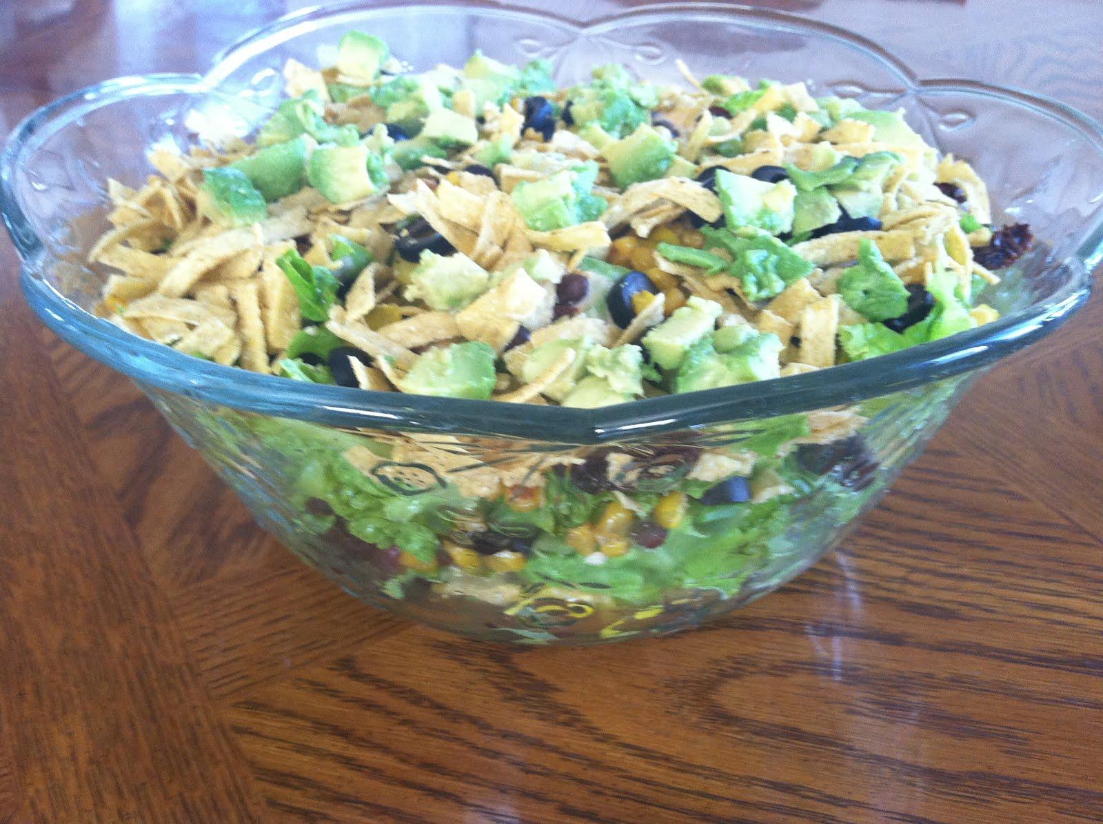 Produce Pantry: Southwest Layer Salad