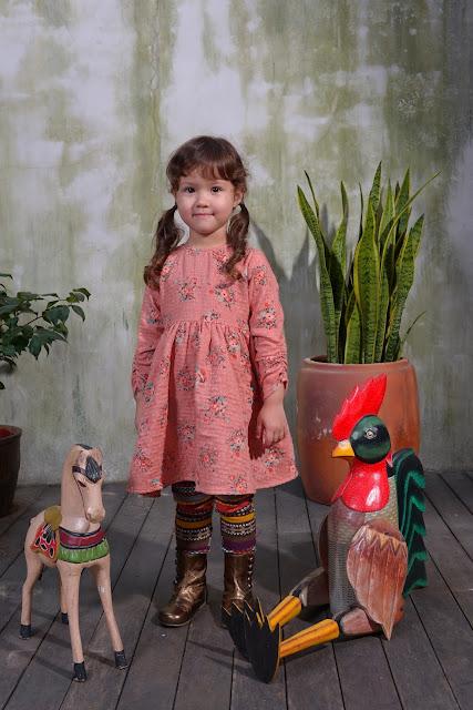 Siaomimi Lauren Dress | Chichi Mary Kid's Boutique