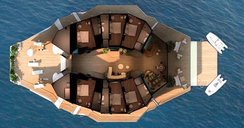 Orsos Islands - a luxury floating island