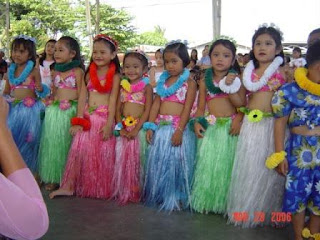 Hawaiian costume designs