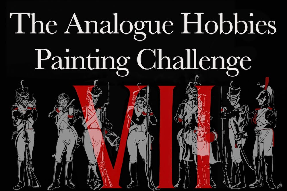7th Analogue Painting Challenge