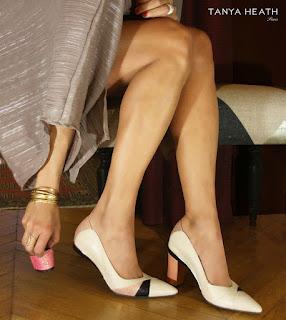 Sapatos com tacão amovível ou multi-altura