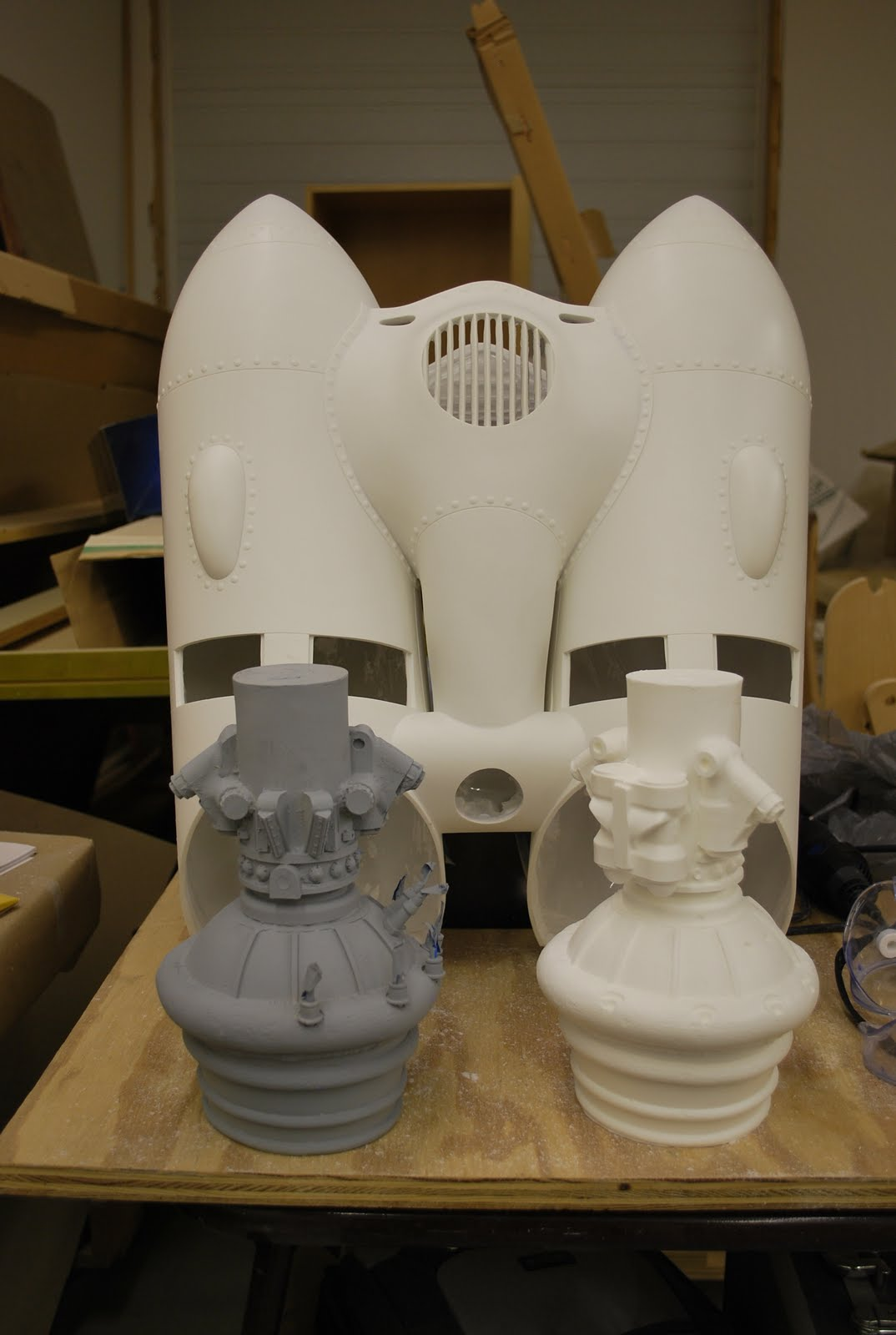 Jimmy Cosentino Prop Building And Painting Rocketeer