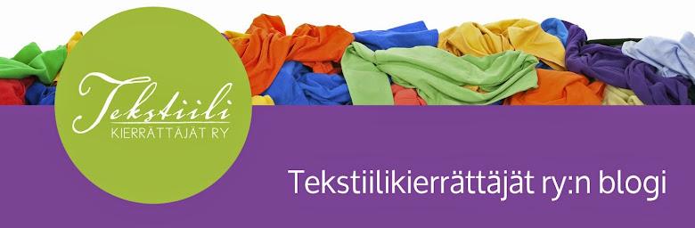 Tekstiilikierrättäjät ry:n blogi