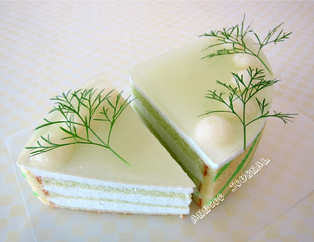 Honeydew Mousse Cake | Anncoo Journal - Come for Quick and Easy ...