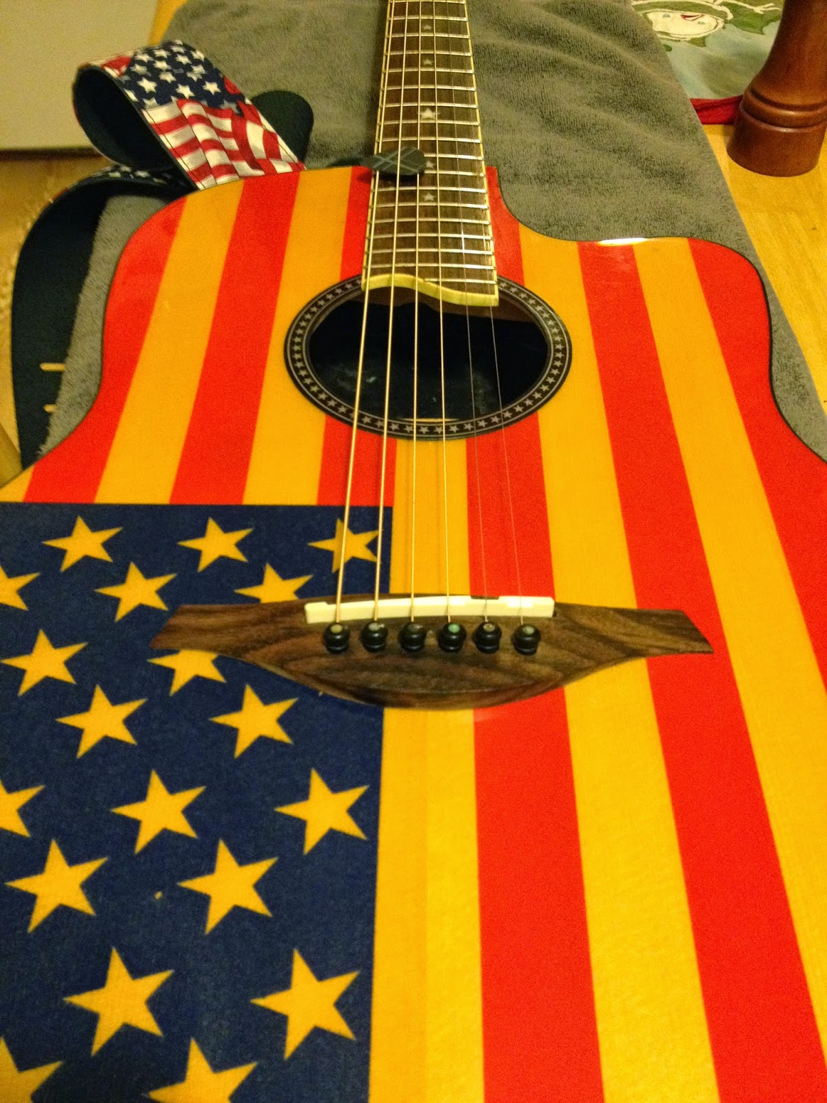These Old Guitars Jay Turser JTAFlag 300 Made In Japan