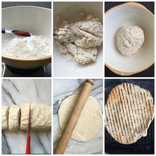 How to make homemade yogurt flatbreads