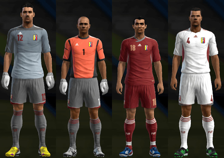 PES 2013 Venezuela 12 13 Kit Set by Santy Argentina