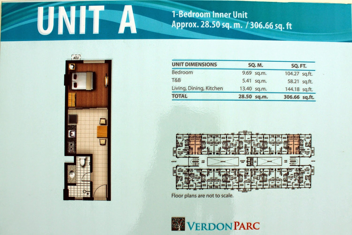 Verdon Parc Unit A (1-Bedroom Inner)