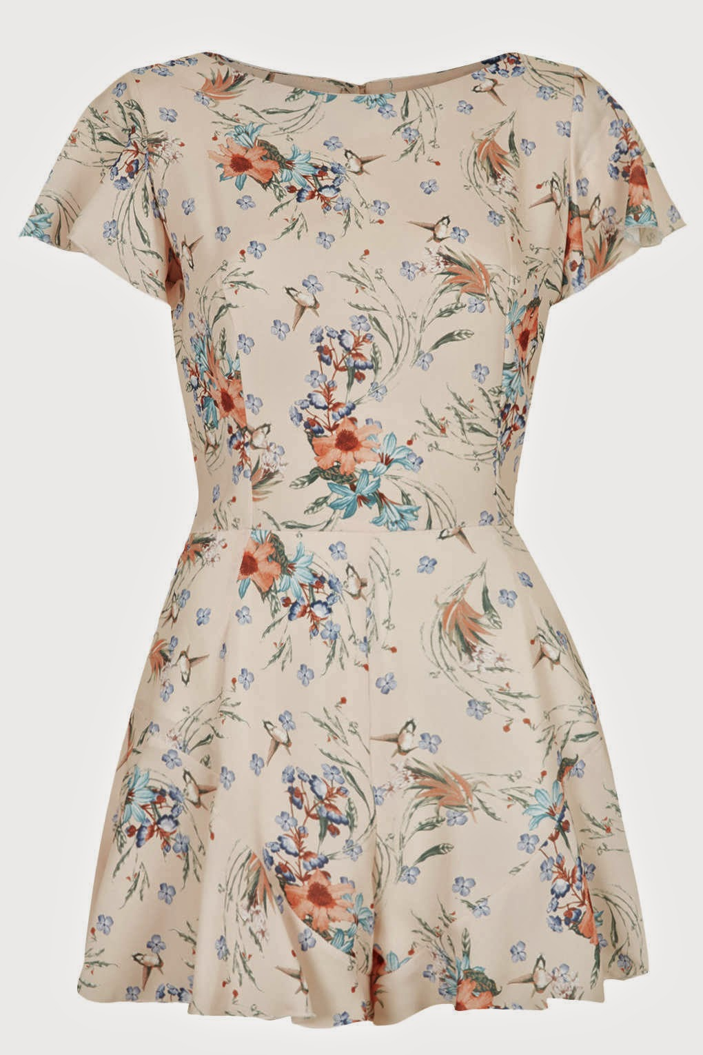 ditsy playsuit topshop