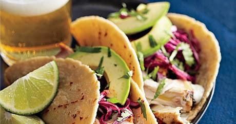 Diary of a Fit Mommy: Skinny Coconut Lime Mahi-Mahi Tacos
