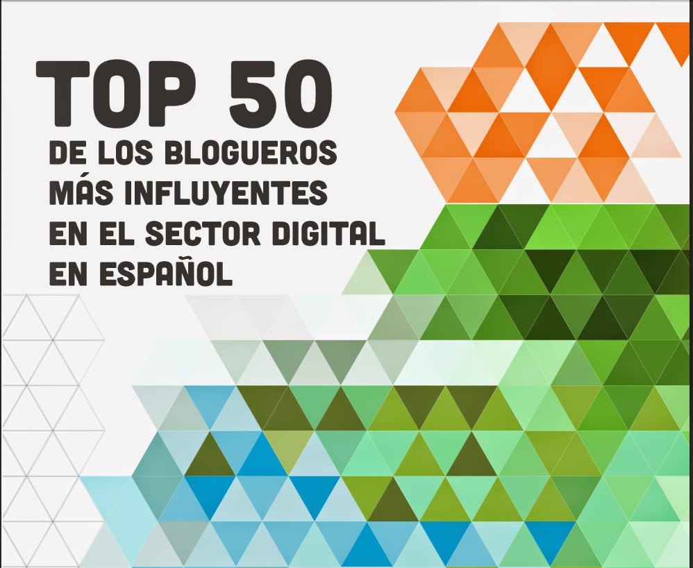 Top 50 de blogueros influyentes en el sector digital