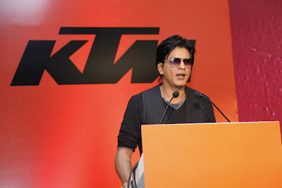Shahrukh Khan Unveil the New Bike KTM