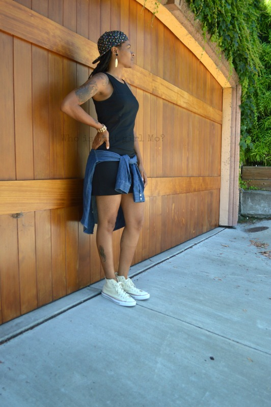 sneakers with dresses {who is that girl Mo?}