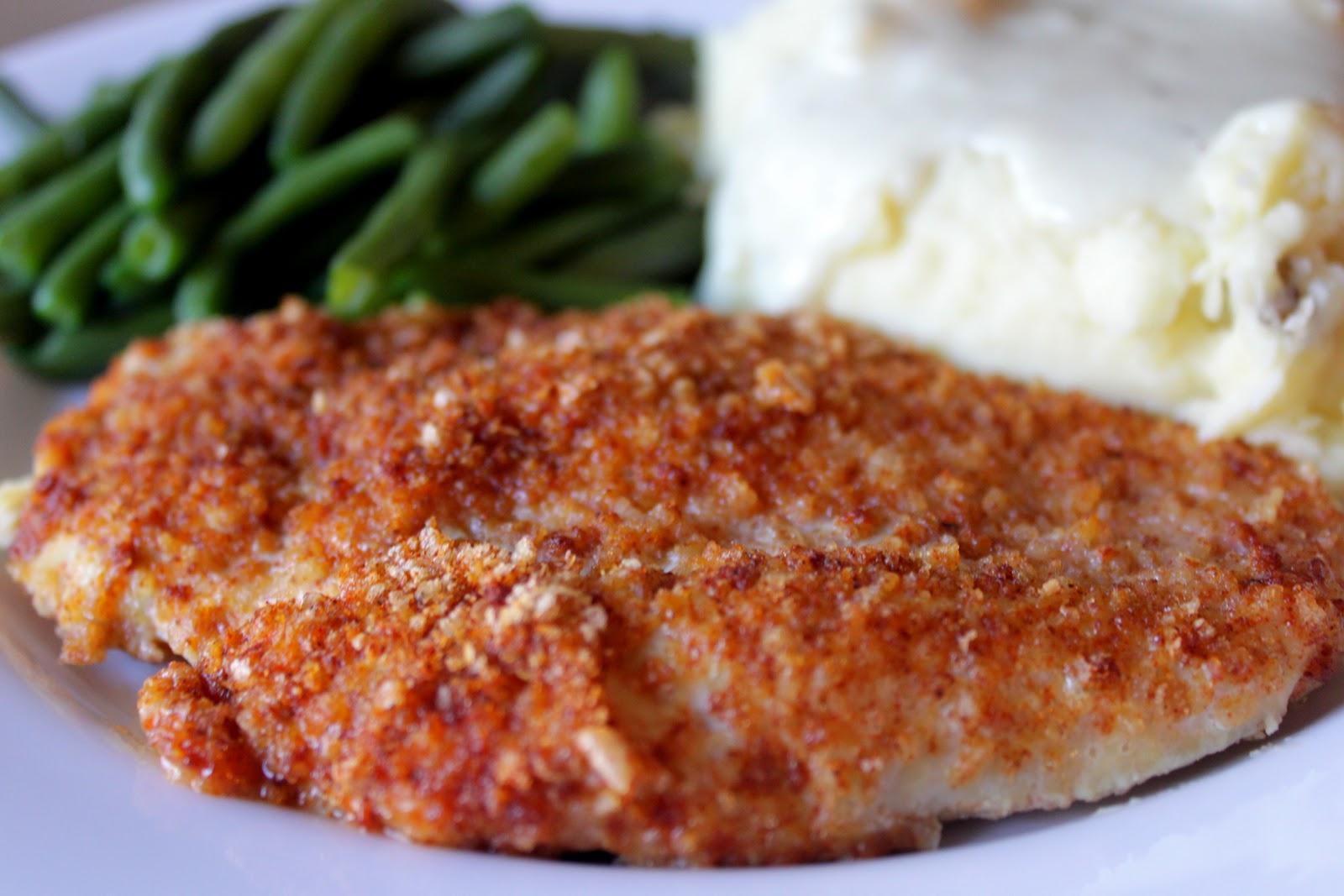The Cook Next Door: Crispy Oven-fried Chicken