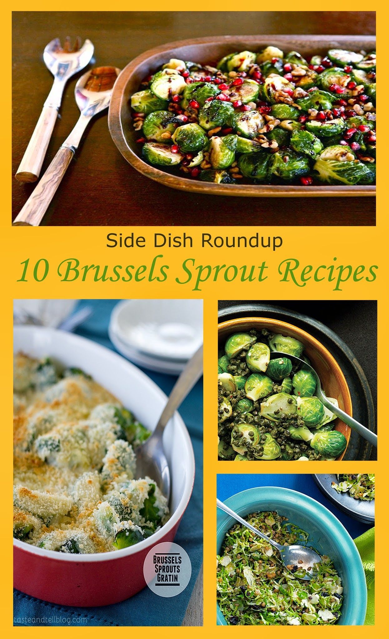 Brussel Sprout Side Dish Recipe