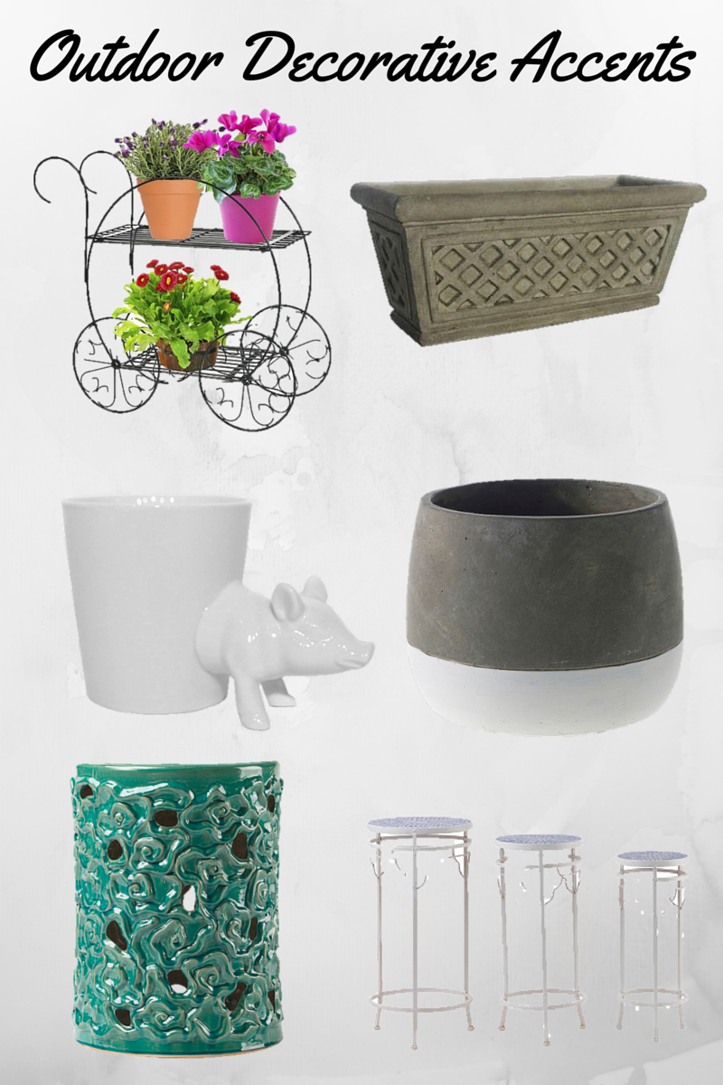 Images Top to Bottom Garden Cart Plant Stand @ Target // Ceramic Planter @ Home Depot // Pig Table Planter @ Target // Ash Pot @ Target // Garden Stool ...  sc 1 st  Musings by Candace Jean - blogger & Musings by Candace Jean: My Plan for Increasing Our Curb Appeal islam-shia.org