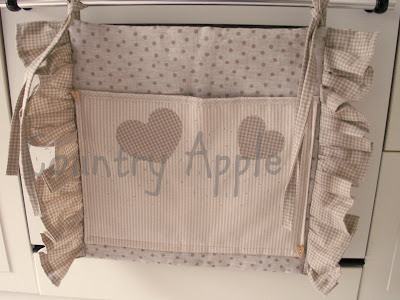 Country apple per una cucina chic for Tutorial coprifornelli