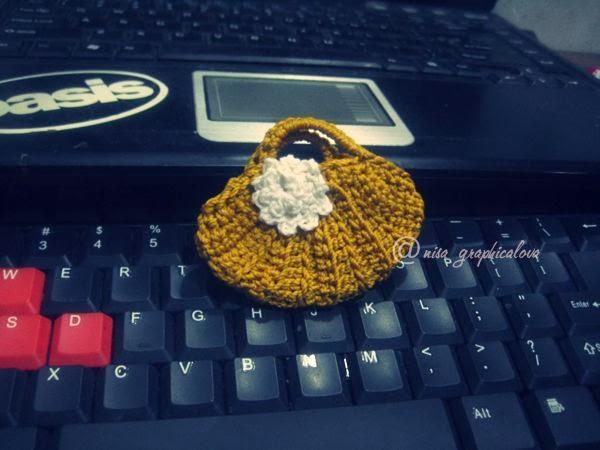 miniatur bag crochet