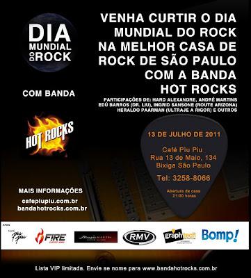 Dia Mundial do Rock com Kleber K. Shima