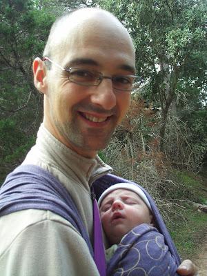 padre, porteo, http://criandomultiples.blogspot.com