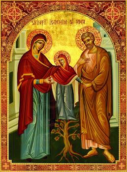 Astazi 9 septembrie praznuirea Sfintilor si Dreptilor Parinti Ioachim si Ana !
