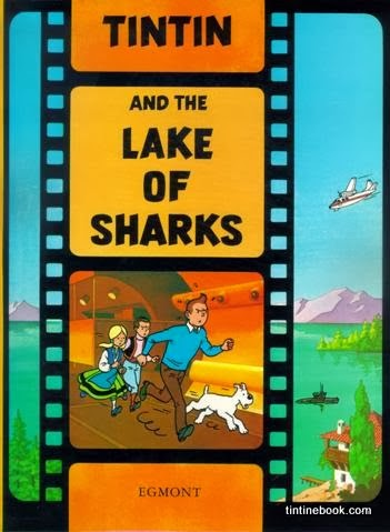 Tintin and the Lake of Sharks Cover