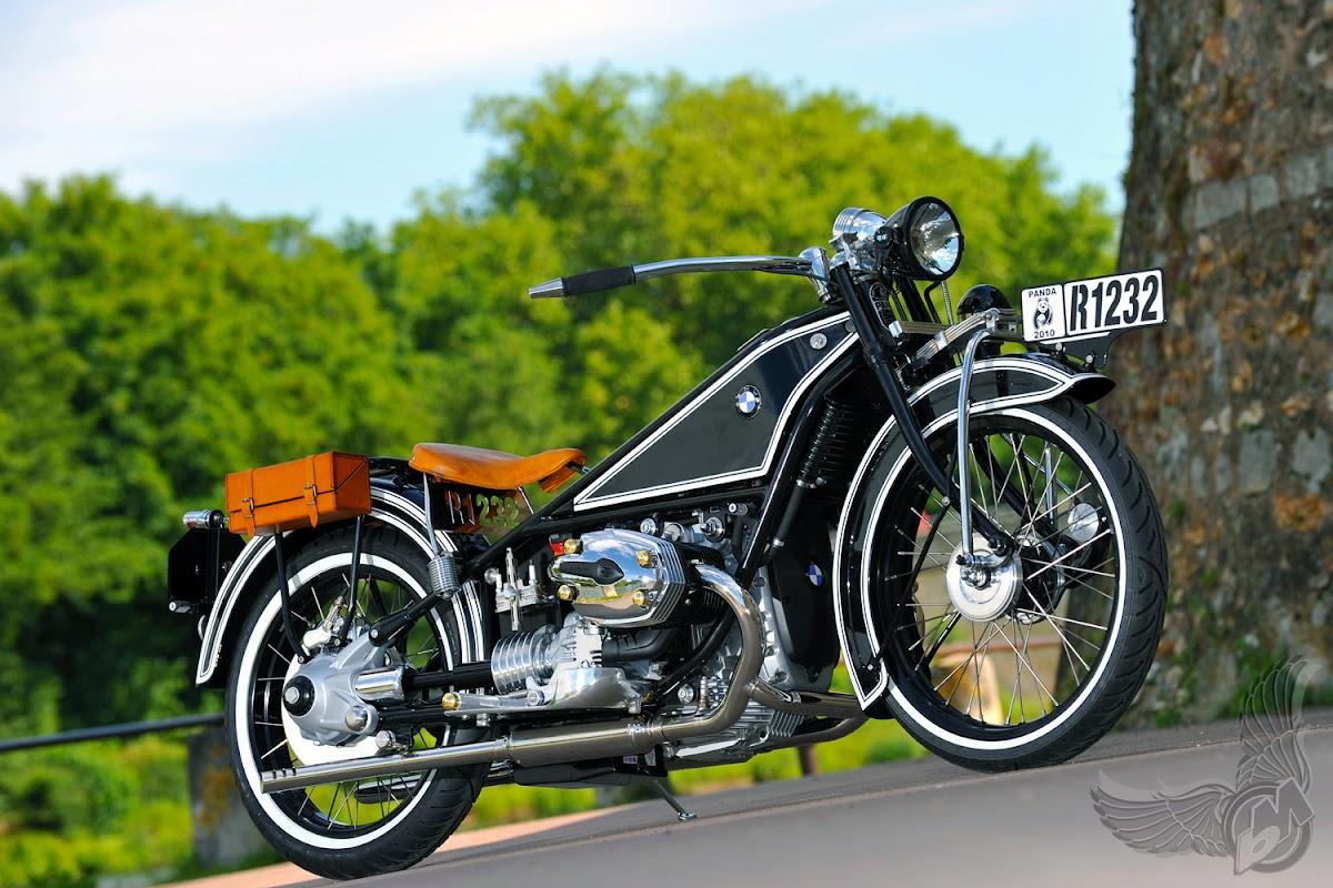 bmw r1232    panda moto, france