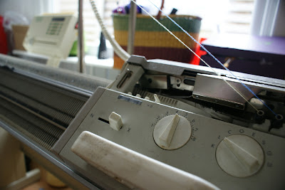 double bed knit machine