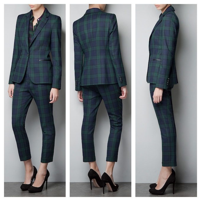 Tartan Blazer | Women's Suits | Pinterest