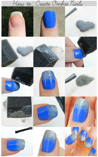 ombre nail polish tutorial