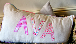 Name cushion www.byelsieb.etsy.com